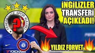 İngilizler Fenerbahçe'nin Transferini Resmen Açıkladı! Yıldız Golcü Seneye Çubuk