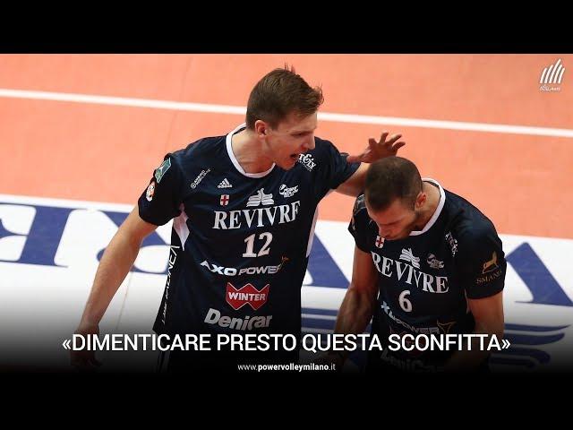 Superlega, l'intervista post Trento - Milano di Elia Bossi