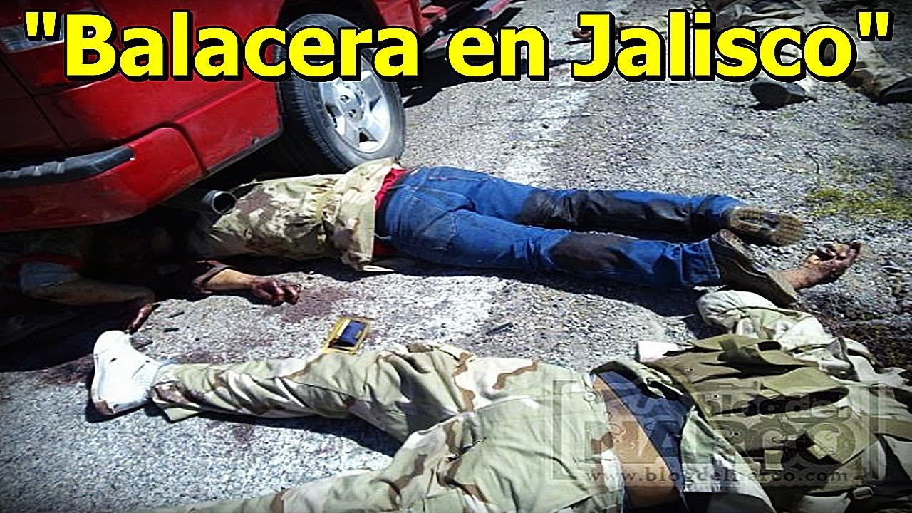 Fuerte Emboscada Y Balacera En Guadalajara, Jalisco Deja