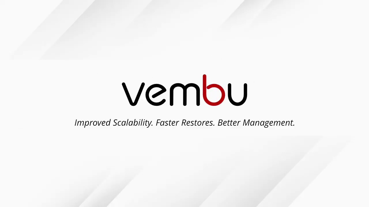 VMware Backup and Replication Solution - VM Backup by Vembu
