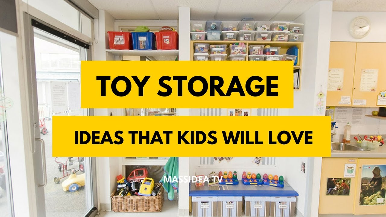 45 awesome toy storage ideas that kids will love