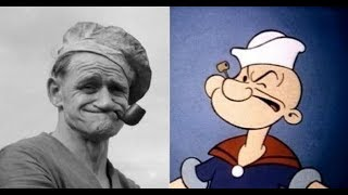 Famous cartoon characters in real life