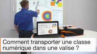 Utiliser la mallette interactive Mini-ITsac pour transporter une classe numérique dans une valise