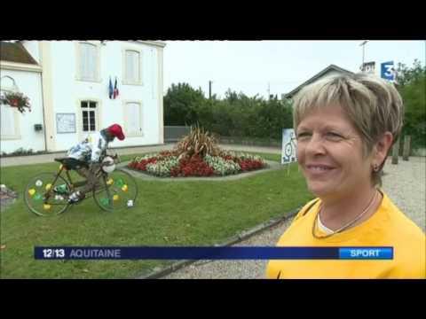 Tour de France un passage inedit par Houeilles dans le Lot et Garonne
