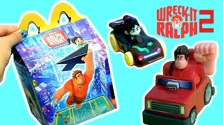 Happy Meal Toy Surprises Wreck-It Ralph 2 Internet Racers