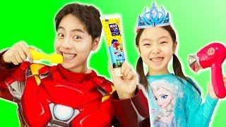 Superhero Elsa This Is The Way | Nursery Rhymes & Kids Song 아침 동요 - Mashu Vlog