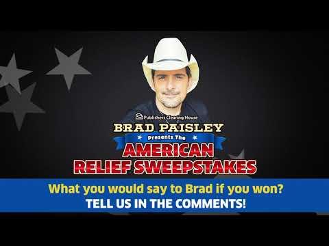 Brad Paisley & PCH Team Up!