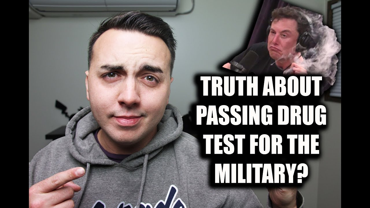 WORRIED ABOUT PASSING MILITARY DRUG TEST?