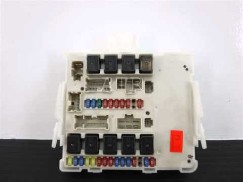 hqdefault 2009 nissan frontier 4 0l, engine fuse box, 284b6ze00c 2006 nissan frontier fuse box at fashall.co