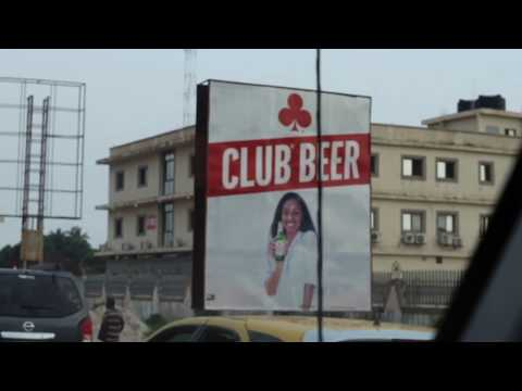 Driving through Monrovia, Liberia part 3 | December 2018 | SheaMoringaTV