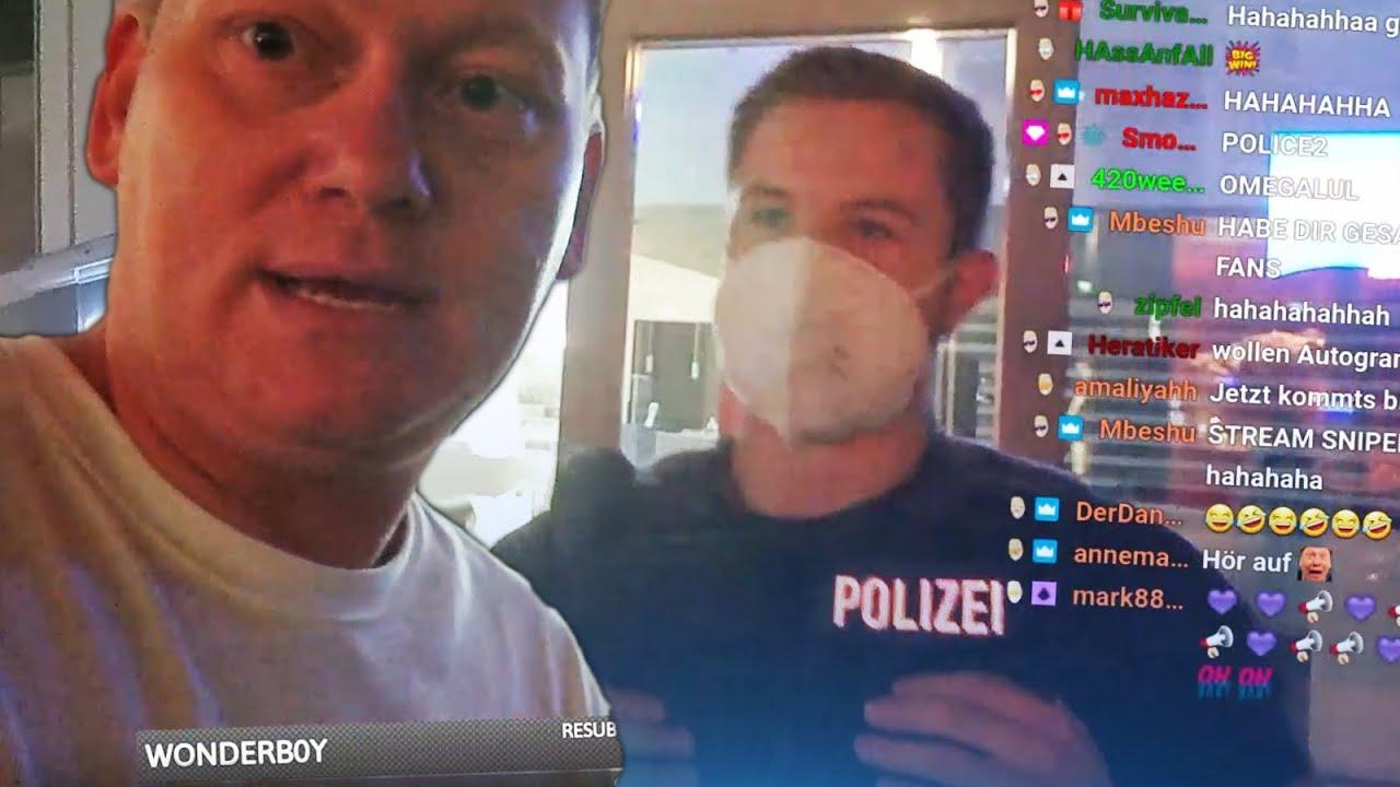 KNOSSI wird von der POLIZEI angehalten! 😂 SPONTANE Tour über die REEPERBAHN 🔥