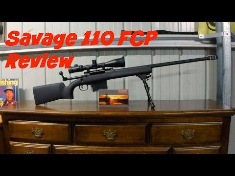 Savage 110FCP-HS Precision 338 lapua mag Review