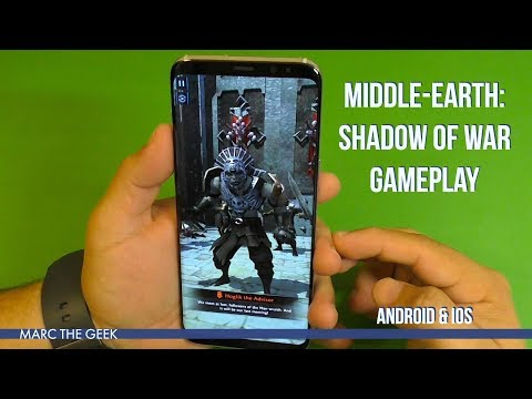 Middle-Earth: Shadow Of War Mobile Gameplay