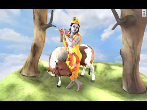 3D Krishna, Its Free Mobile App & Live Wall Paper