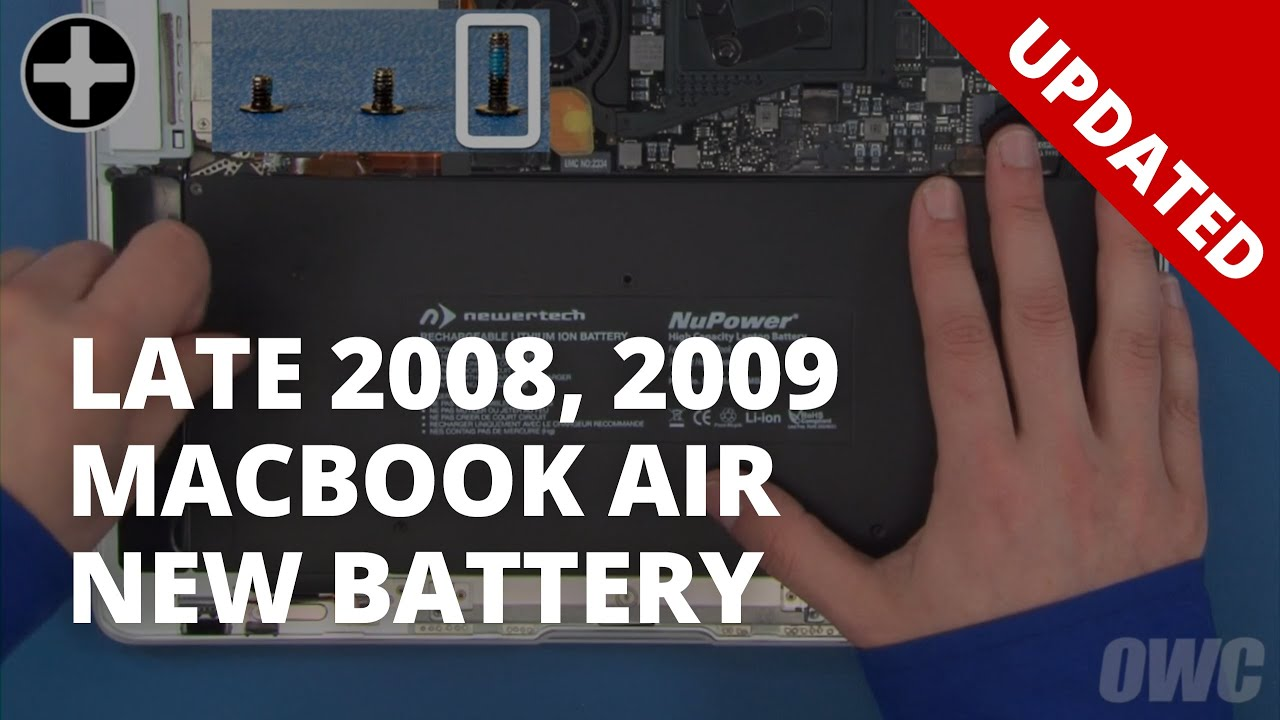 Original//Late 2008//Mid 2009 Battery Compatible with MacBook Air
