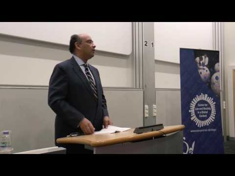 Third Cotterrell Lecture: 'Honor, Citizenship and the Law' by Professor Kwame Anthony Appiah
