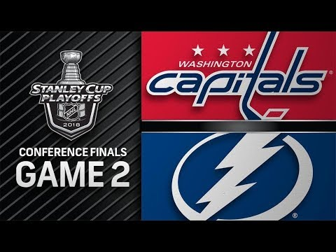 Washington Capitals vs Tampa Bay Lightning – May. 13, 2018 | Game 2 | Stanley Cup 2018. Обзор