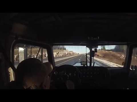 Trucker Stories & Lumber Trucks - New Brunswick to Toronto, ON: Truck Driver VLOG #17
