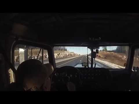 Trucker Stories & Lumber Trucks  New Brunswick to Toronto, ON: Truck Driver VLOG 17