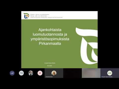 FTT Tukikoulutus 2020 Luomu- ja ympäristötukiasioita