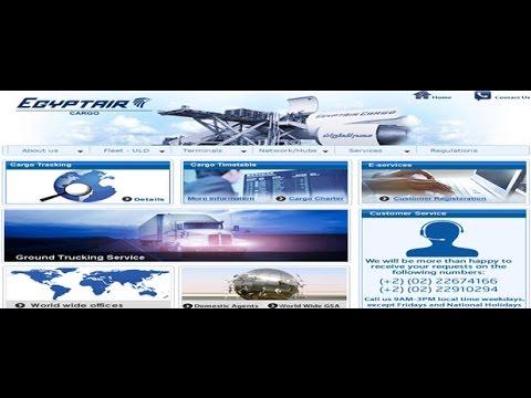 Egypt Cargo Tracking,Egypt Air Cargo Tracking Status