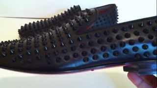 AUTHENTIC CHRISTIAN LOUBOUTIN ROLLERBOY LOAFERS SIZE 44