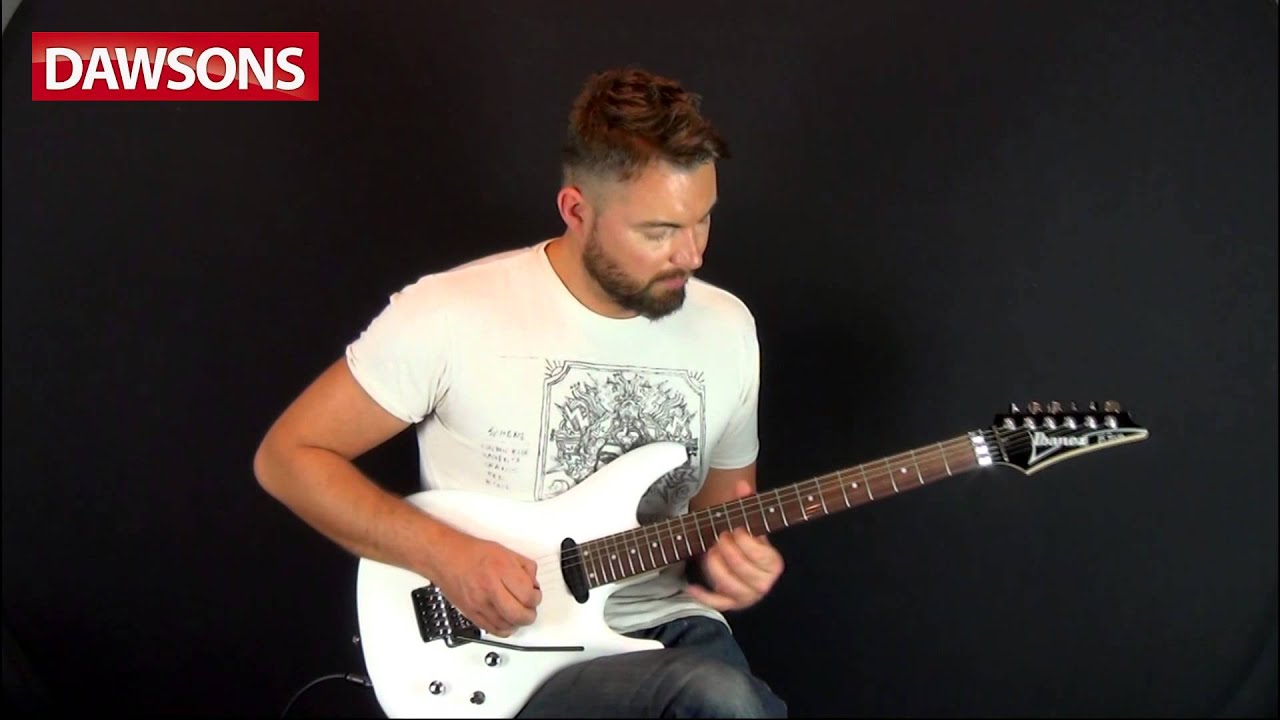 ibanez js140 joe satriani signature electric guitar review youtube