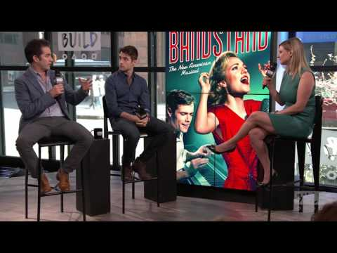 "Andy Blankenbuehler And Corey Cott Speak on Broadway Show ""Bandstand"""