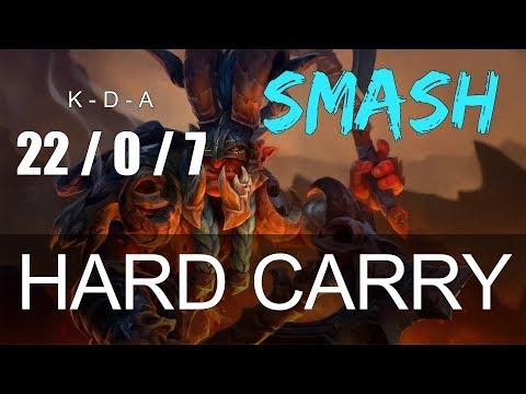 COMO SUBIR TU MMR | SmasH - Troll Warlord (7.13b)