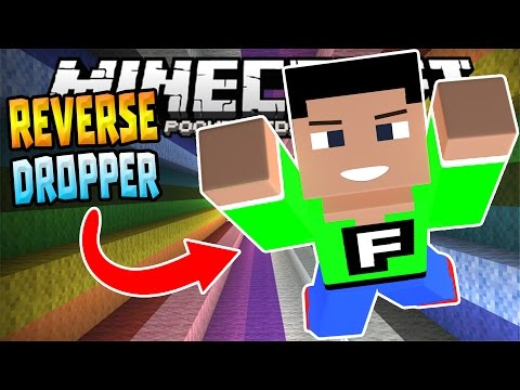 MCPE 0.14.3 REVERSE DROPPER!!! - Insane Modded Minigame - Minecraft PE (Pocket Edition)
