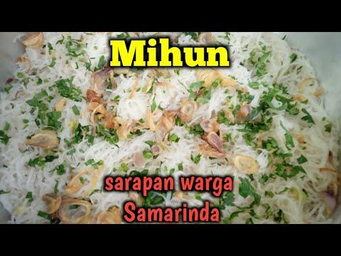 Resep Mihun Samarinda Resep Bihun Yang Enak Dan Tidak Gampang Basi Youtube