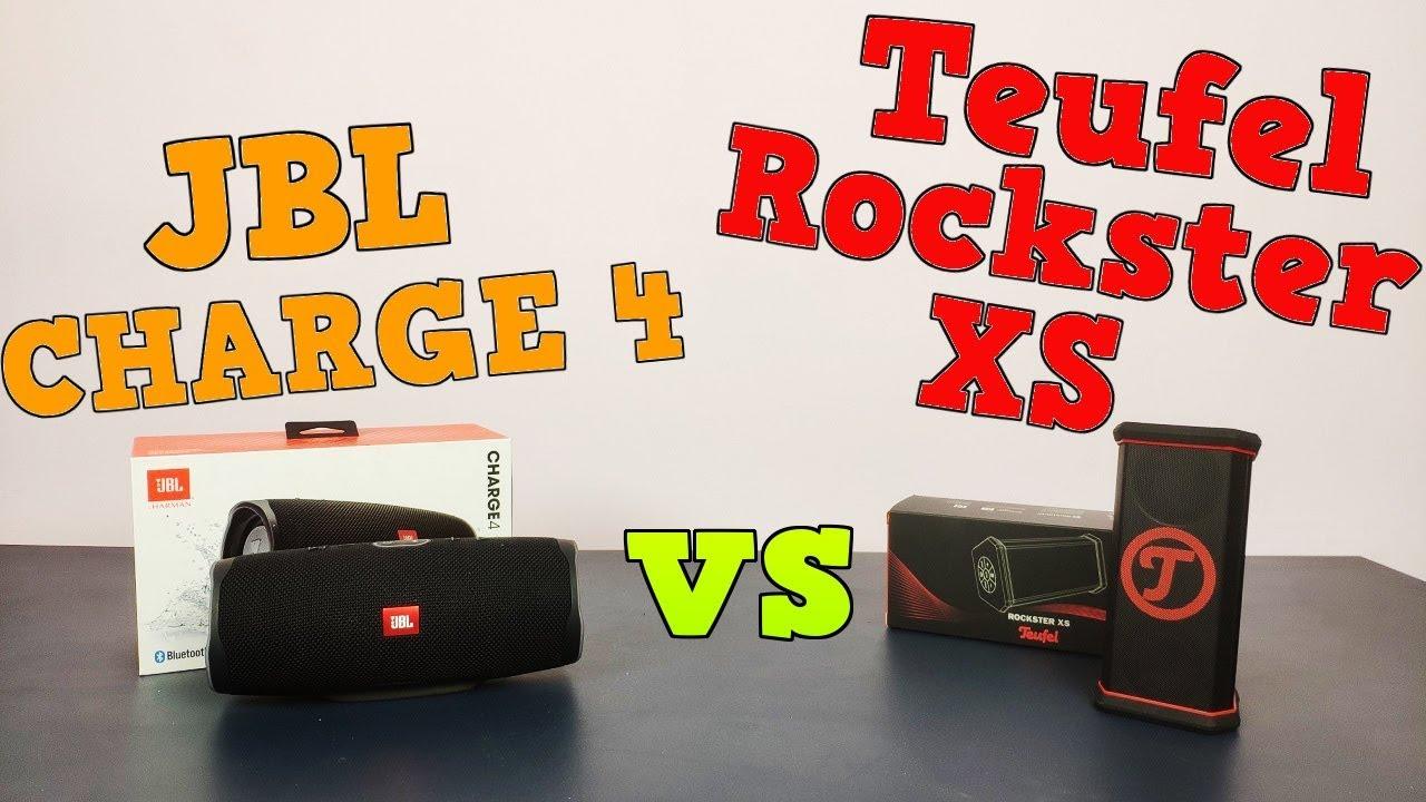 Jbl Charge 4 Vs Teufel Rockster Xs Bass Test I Krotkie Porownanie Youtube