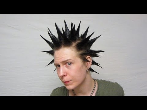 How To Make Liberty Spikes Hair Youtube