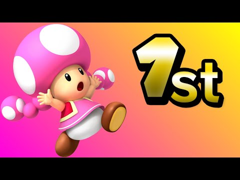 toadette is better than you think... (Mario Kart Wii)