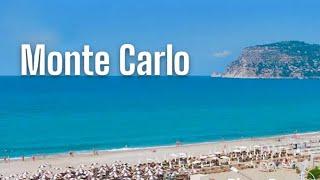 Обзор пляжа / Monte Carlo hotel 4* / Алания 2019 / Турция 2019