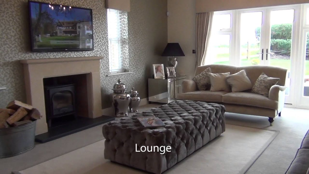 WhatHouse.co.uk tours Banner Homes' Flint Hall Farm show house - YouTube