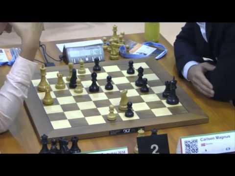 Karjakin vs Carlsen - 2014 World Rapid Championship