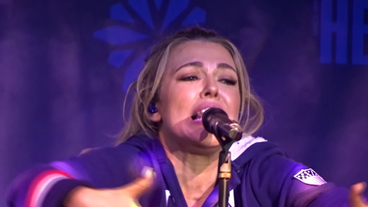 Rachel Platten live in Seoul, Korea - February 19, 2018