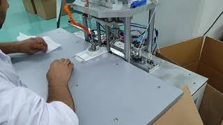 En iyi yarı otomatik ultrasonik kulak lastiği yapıştırma makinası