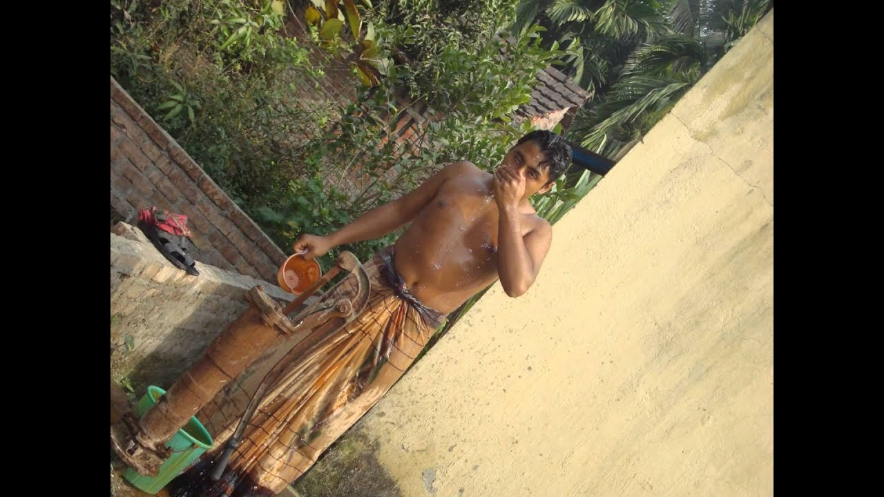 Indian Boy Doing Bath - Youtube-2003