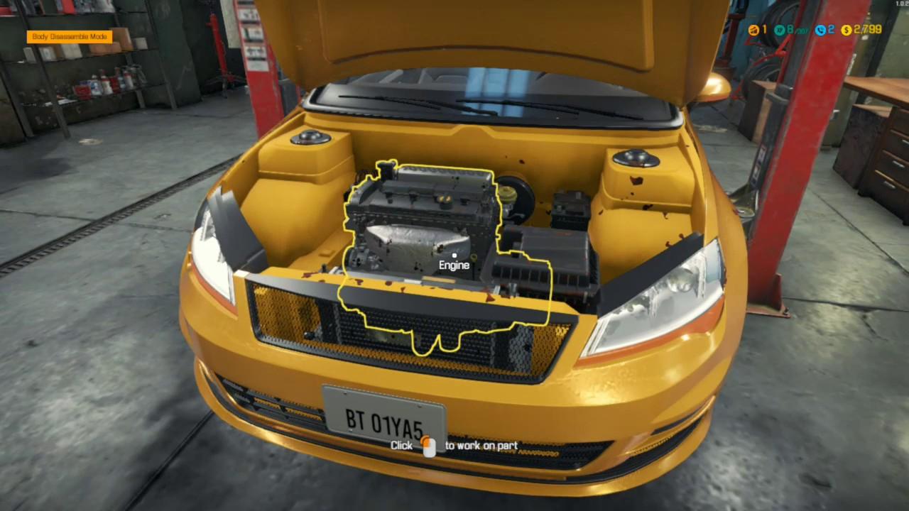 Car Mechanic Simulator 2018 - Story Order - Emden Lotz [PC\HD]