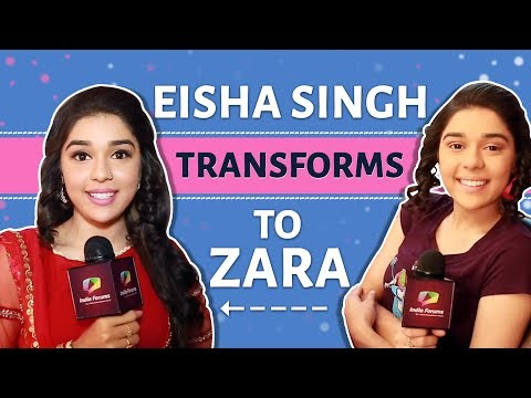Eisha Singh aka Zara Shares Her Make Up Look |Exclusive