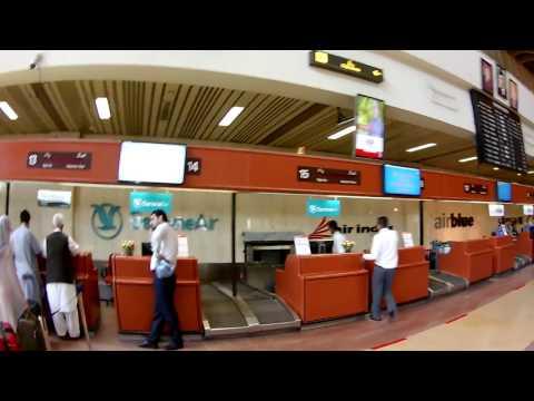 Karachi Airport inside