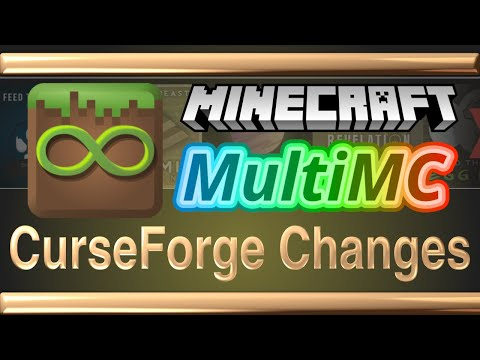 Download Install CurseForge Modpacks in MultiMC after