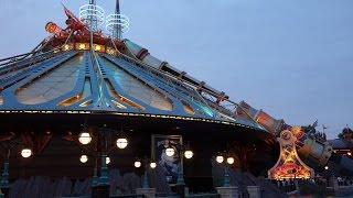 Space Mountain during Extra Magic hours at Disneyland Paris