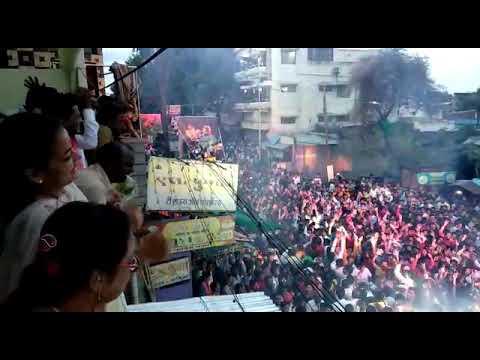 Amdar Praniti Tai Shinde Markanday Rath Utsav  Solpaur