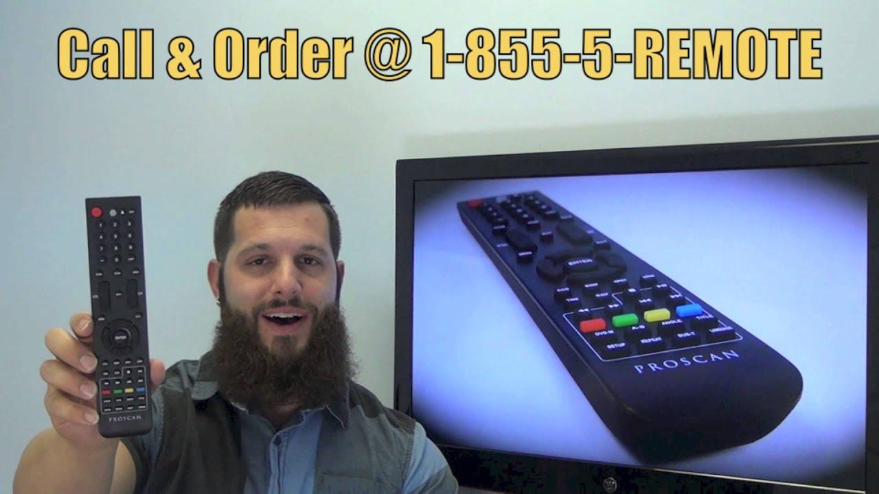 Proscan 42la45h Remote