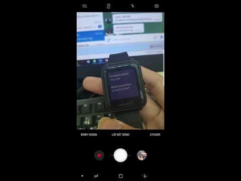 Hướng dẫn đổi FW quốc tế cho  Xiaomi Amazfit Bip, cài font tiếng việt