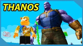 Escape Giant Thanos Obby in Roblox (Huge Surprise in the End)