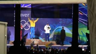 Pichler och Björn Ferry siar om nytt guld i sprinten